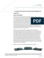 Cisco ASA5500 Fiche Technique