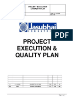 Project Exec & Quality Plan