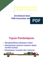 35238554 2 Aspek Sosial Budaya Yang Mempengaruhi Status Gizi