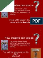 Creative 10 Min Activities[1]