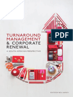 Turnaround Management  and Corporate Renewal