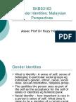 1.Theories of Gender