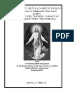 Kebaktian Paskah i 2011 (Bhs Batak)