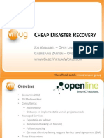 VMUG2010-Cheap-Disaster-Recovery