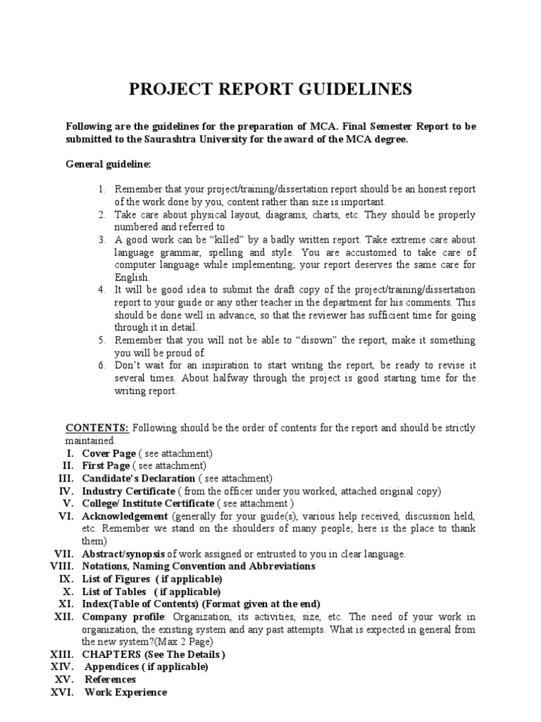 Project synopsis template synopsis format format of synopsis 7 project report format for final mca system interface computing yelopaper Images
