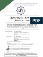 Agrement Termo- Hidroizolatii Terase