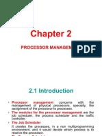 Chapter 2 Processor Management