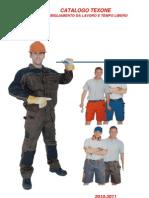 Catalogo Texone Abbigliamento Da Lavoro