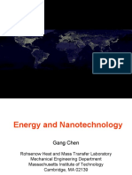 Energy and Nanotechnology