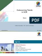 Sridhar RamasubbuSCM Outsourcing Trends-10h15