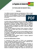 Historique de La Federation Togolaise de Basket Ball