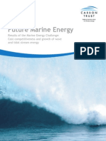 Future Marine Energy; by Carbon Trust