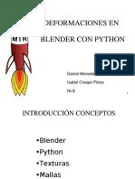 Deformacionescon blender y python