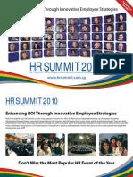HR Summit Brochure Sera