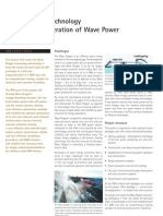 Wave Dragon - Pioneering Technology for Bulk Generation of Wave Power
