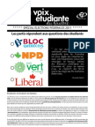 2011 VOIX Elections fédérales