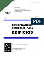 COVENIN 1750-87-ESPECIFICACIONES GENERALES PARA EDIFICIOS