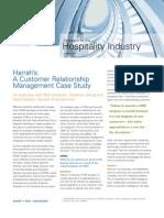 A Customer Relationship Management Case Study