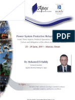 EE - 24 Power System Protective Relaying Applications - Muscat
