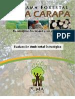 Evaluación Ambiental Estratégica realizada al Programa Baba Carapa