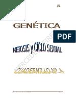 Genetica N° 4 MEIOSIS