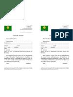 Anexa 2 Cerere de Adeziune la sindicatul agricultorilor Cultivatorii Directi din Romania