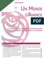 Un Monde d'Avance 13 - No 10 - Mars-Avril 2011