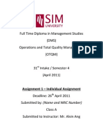 Guide to Assignment 1 (Individual Assignment) - By Alvin Ang April 2011