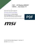 MSI EX465x