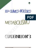 EDI quimico biologico Nº 3 METABOLISMO