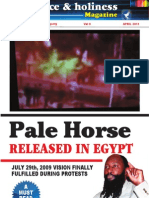 Pale Horse in Egypt April 2011