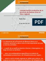 Caracterización productiva de la provincia de Buenos Aires en clave regional