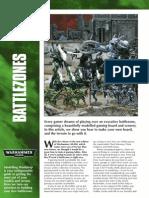 Modelling Workshop Battlezones