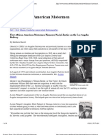 Historic Firsts | First African American Motormen