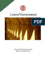 Control Environment Manual