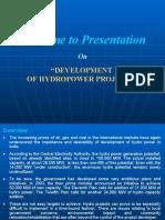 Hydro Power -Slides for NPTI