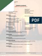 Services With Descriptions 2008lc