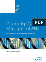 Change Management Developing Skills