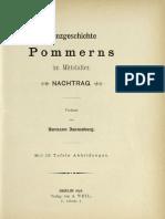 Münzgeschichte Pommerns im Mittelalter. Nachtrag / verf. von Hermann Dannenberg