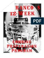DeFrancos 12-Week Combine Preparation Program
