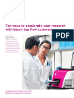 Ten ways to accelerate your research with benchtop flow cytometry