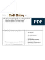Ch 23-6 Earth History Foldable