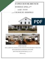 Brokers Open House Brunch