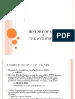 History of Gatt