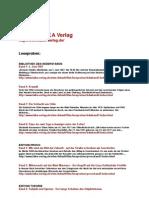 LAIKA Verlag - Leseproben