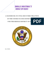 Discovery Practice Manual