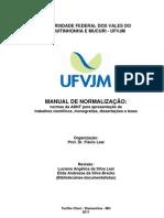 Manual Abnt Ufvjm