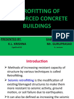 Retrofitting of Reinforced Concrete Buildings