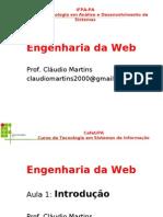 Engenharia de Software da Web -aula01-INTRODUCAO e Visão Geral