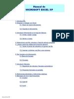 Manual Microsoft Excel XP